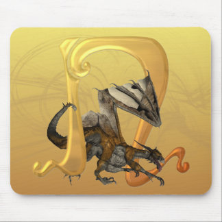 Dragonlore Initial N Mouse Pad