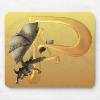 Dragonlore Initial P Mouse Mats