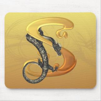 Dragonlore Initial S Mouse Mats