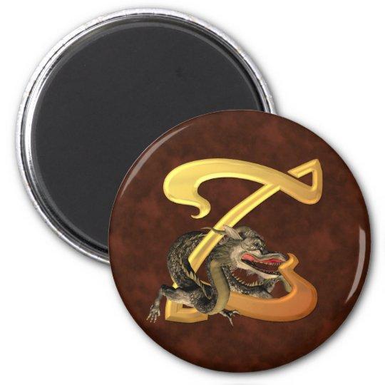 Dragonlore Initial Z Magnet