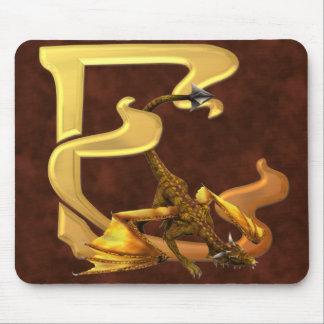 Dragonlore Initials E Mouse Pad