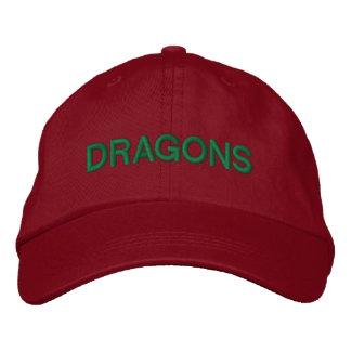 Dragons Adjustable Cap Embroidered Baseball Cap