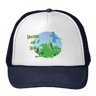 Dragons Are Here Cap