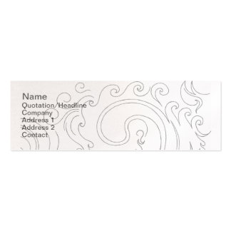 Dragons Breath Pack Of Skinny Business Cards