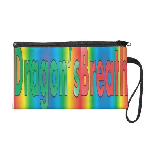 Dragon's Breath - Rainbow Wristlet Clutch