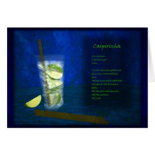 Dragons Cocktail Bar: Caipirinha Card