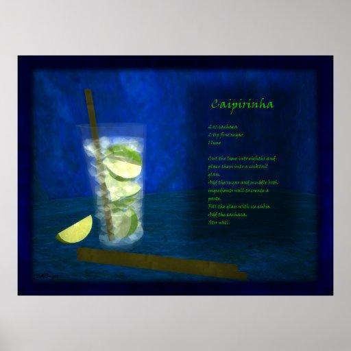 Dragons Cocktail Bar: Caipirinha Poster