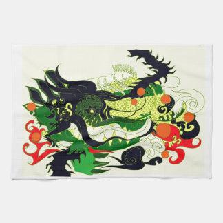 Dragons Den (Parchment) Tea Towel