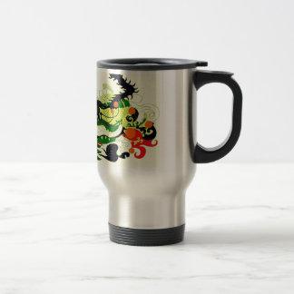Dragons Den (Parchment) Travel Mug