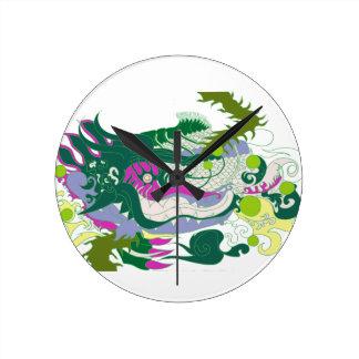 Dragons Den (Pastel) Wallclock