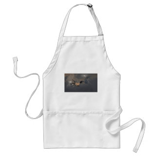 Dragons Fighting in Storm Clouds Standard Apron