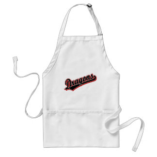 Dragons in Black and Red Aprons