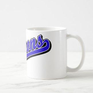 Dragons in Blue Basic White Mug
