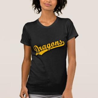 Dragons in Orange T Shirts