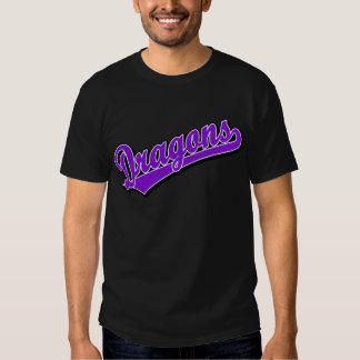 Dragons in Purple Tee Shirt