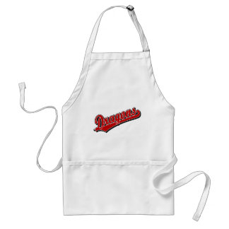 Dragons in Red Standard Apron