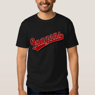 Dragons in Red Tee Shirts