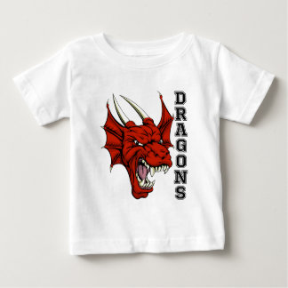 Dragons Mascot Baby T-Shirt