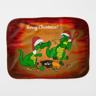 Dragons - Merry Christmas ! Today I will cook Burp Cloth