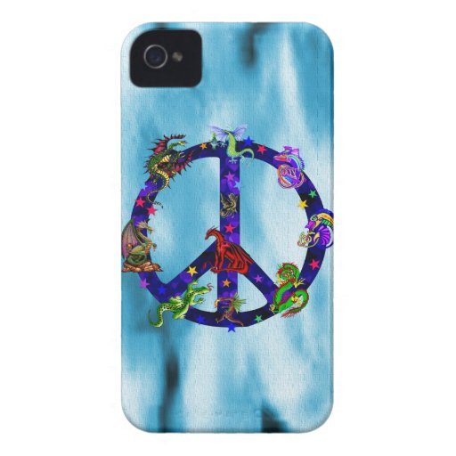 Dragons Of Peace Blackberry Bold Case