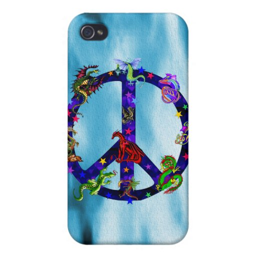 Dragons Of Peace iPhone 4 Case