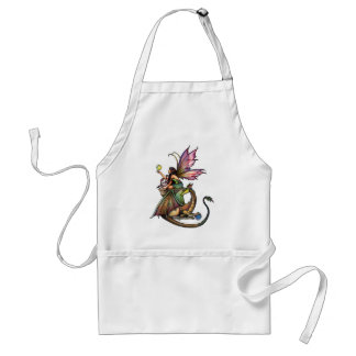 Dragon's Orbs Fairy and Dragon by Molly Harrison Standard Apron