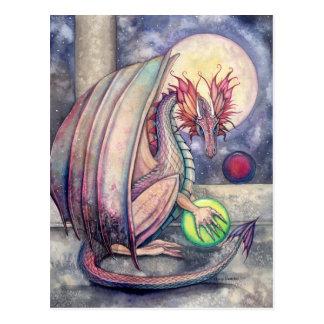 Dragon's Perch Fantasy Art Postcard