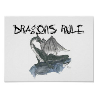 Dragons Rule Poster
