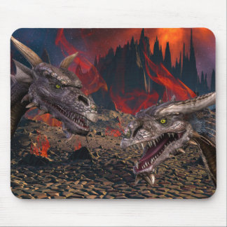 Dragons World Mouse Pad