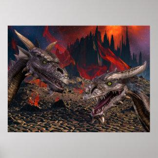 Dragons World Print