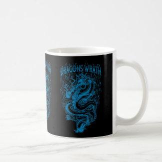 Dragons Wrath Blue Classic White Coffee Mug