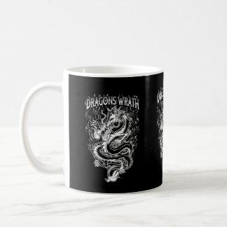 Dragons Wrath Yellow Basic White Mug