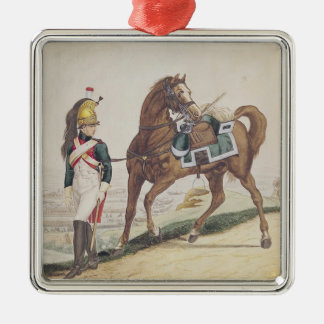 Dragoons of the French Imperial Army Christmas Ornament