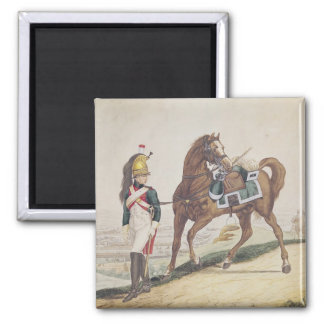 Dragoons of the French Imperial Army Magnet