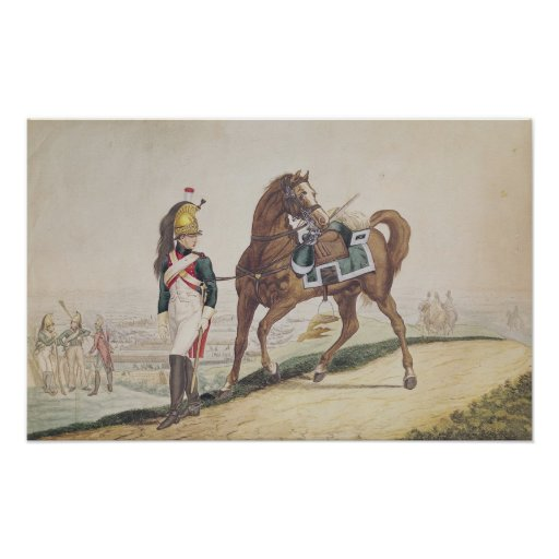 Dragoons of the French Imperial Army Poster