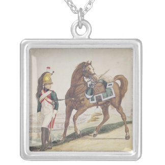 Dragoons of the French Imperial Army Silver Plated Necklace