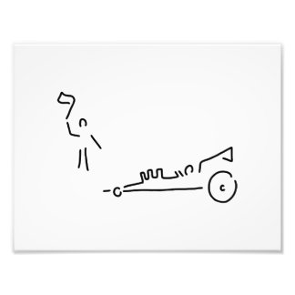 dragster motosport rennen auto photo print