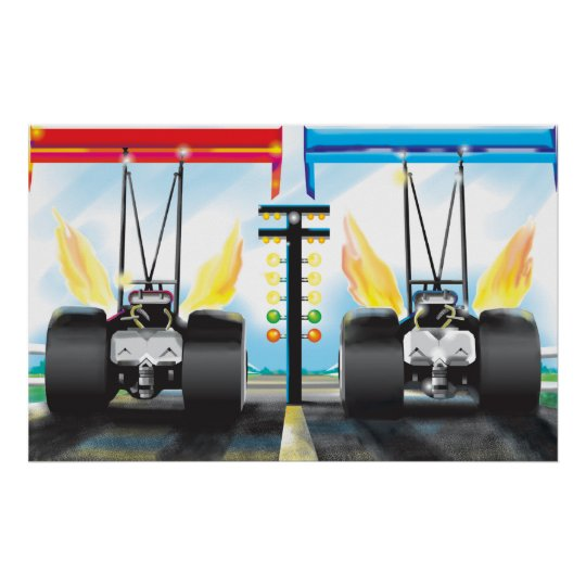 dragsters poster