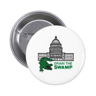 DRAIN THE SWAMP Button / Badge