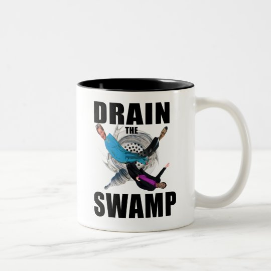 Drain the Swamp Donald Trump Red Coffee Cup