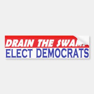 DrainSwampElectDems Bumper Sticker