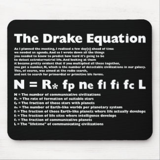 Drake_Equation Mouse Mat