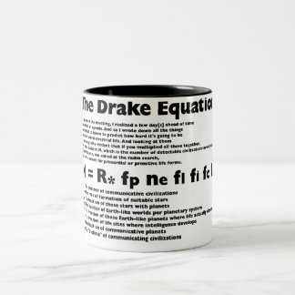 Drake_Equation Two-Tone Coffee Mug