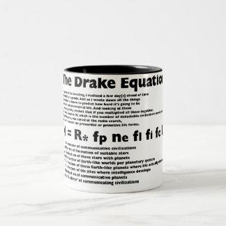 Drake_Equation Two-Tone Mug
