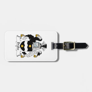 Drake Family Crest Tags For Bags
