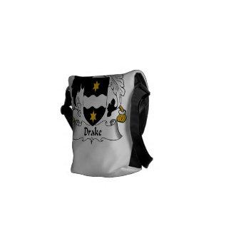 Drake Family Crest Messenger Bags