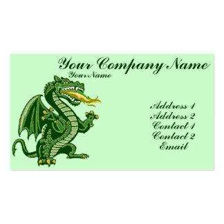 Draken Green Business Card