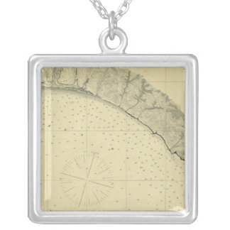 Drake's Bay, California Silver Plated Necklace