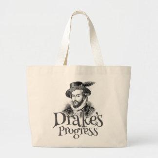 Drake's Progress band tote bag