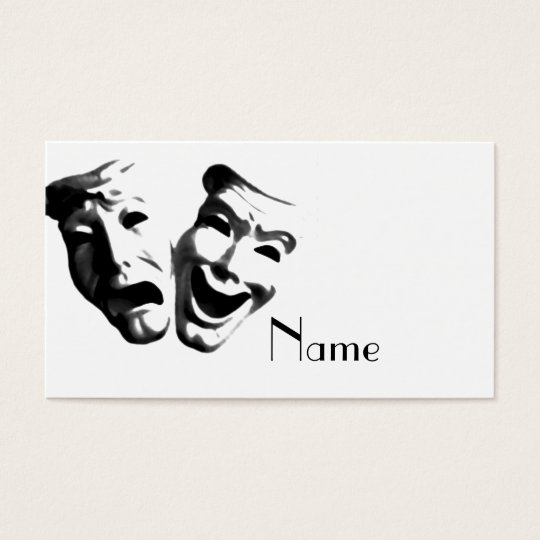 Drama / Actor's Business Card